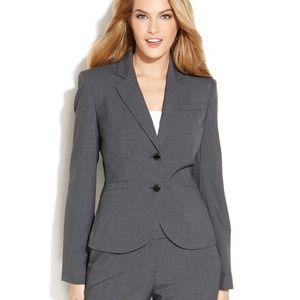 Calvin Klein Two-Button Notched Collar Jacket